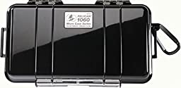 Pelican 1060 Micro Case (Black/Clear)