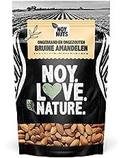 NoyNuts | Amandelen 500 gram | Ongebrand en ongezouten | Gezonde voeding | Rijk aan proteïne, vezels en vitamines