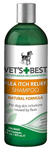 Vet's Best Oatmeal Flea Relief Dog Shampoo, 8oz