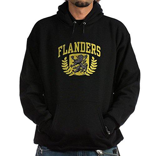 CafePress Flanders Pullover Hoodie, Classic & Comfortable Hooded Sweatshirt Black ()