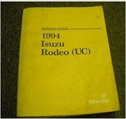 1993 ISUZU RODEO Electrical Service Shop Repair Manual Factory OEM ...