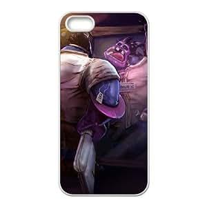 iPhone 4 4s Cell Phone Case White League of Legends DrMundo atlas phone case adgh7988492