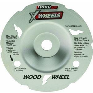 RotoZip XW WD1 Flush Wood Cutting Wheel