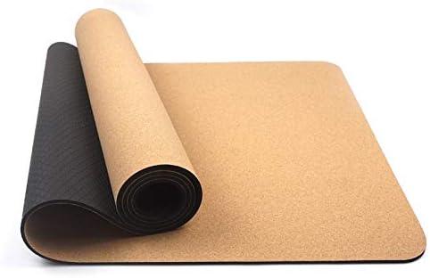 Yoga mat コルクヨガマットスポーツフィットネスマットアンチスリップフィットネスマットスポーツマット workout