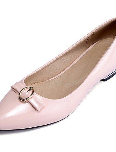 Puntiagudos Fiesta pink uk8 5 Zapatos Noche beige Vestido Negro Plano cn43 5 pink Punta de mujer Semicuero us10 us10 eu42 y Rojo Planos Cerrada ZQ cn42 8 5 eu42 uk7 Rosa 5 eu41 Blanco Tac¨®n Casual us9 5 10 Xfwxxg