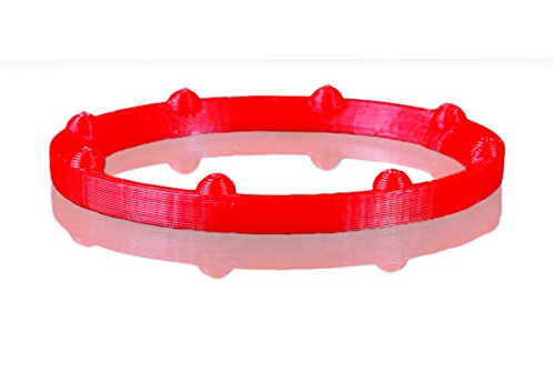 Endless-Ice No Freeze Transducer Ring for Marcum LX5, LX5i, LX6, LX6S, LX7, LX9 & RT9. Made here in the USA (Gill Plate Red, Marcum LX5 & LX6S)
