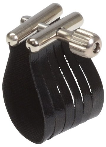 Rovner SS3R Star Series Ligature for Hard Rubber Baritone Sax, Gold Fittings by Rovner