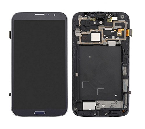 Replacement Repairing Parts Digitizer + LCD Display Screen +FRAME Assembly for Samsung Galaxy Mega 6.3 i9200 i527 Pebble Blue