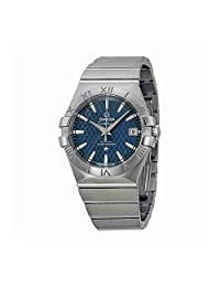 Omega Constellation Co-Axial Automatic Blue Dial Stainless Steel Watch 12310352003002