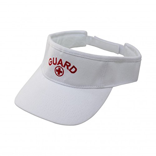 Kemp USA Lifeguard Visor - (Lifeguard White Hat)