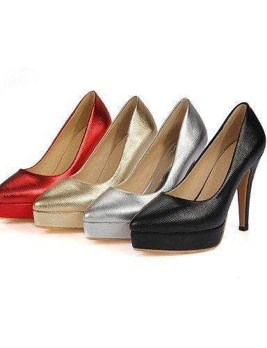 ShangYi Women's Shoes Leatherette Stiletto Heel Heels Heels Wedding / Office & Career / Party Black RBF2MA