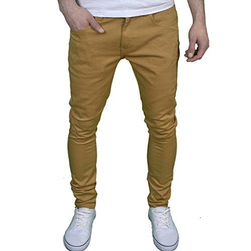 Soulstar Mens Boys Designer Skinny Fit Stretch Jeans