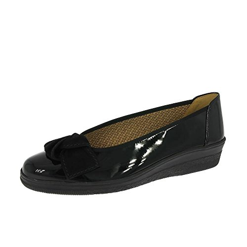 Gabor Ladies Lesley Slip-On Bomba Zapatos 36.403.67 negro