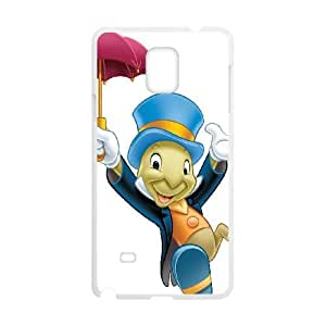 Samsung Galaxy S4 Phone Case White Pinocchio Jiminy Cricket KMI6150785