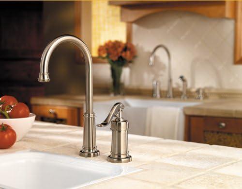 Pfister Ashfield 1-Handle Bar Prep Kitchen Faucet, Brushed Nickel