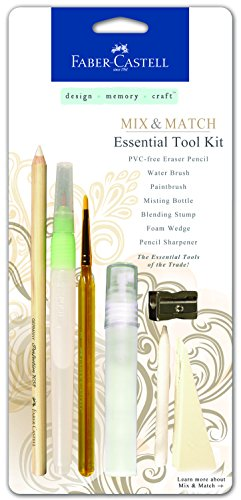 Faber Castell Design - Faber-Castell Design Memory Craft Essential Tool Kit, 7 Piece Set (FC770300)