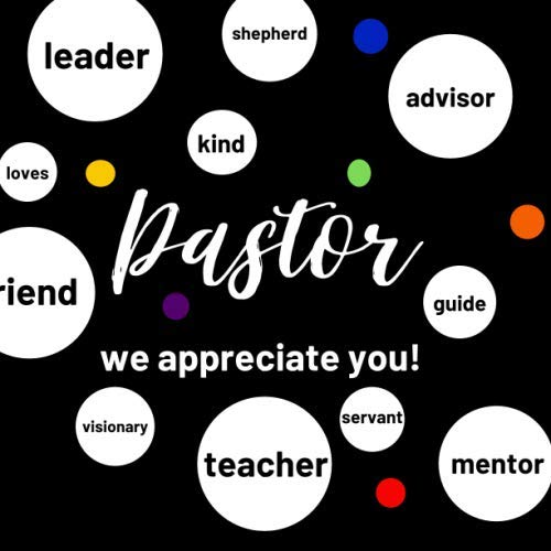 PASTOR WE APPRECIATE YOU!: GUESTBOOK AND SPACE TO WRITE KIND WORDS FOR PASTOR ANNIVERSARY BIRTHDAY OR APPRECIATION DAY