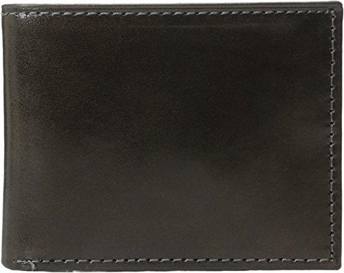 Johnston & Murphy Men's Flip Billfold Wallet Charcoal One Size ()
