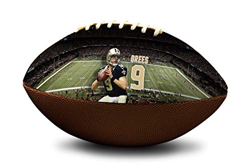Drew Brees New Orleans Saints NFL Full Size Official Licensed Football ()