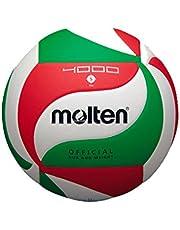 Molten Volleyball V5M4000 Weiß/Grün/Rot