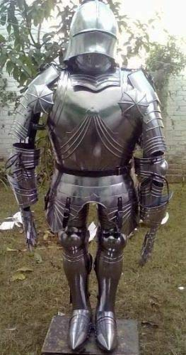QUICK FALCON TRADER Armor Knight Gothic Full Suit of Armour 15 Century HALLOEEN -