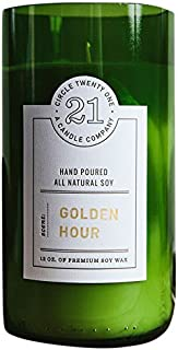 product image for Circle 21 Candles Golden Hours Scented Soy Candle, Green