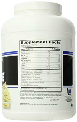 Amazon.com: BPI Sports Bulk Muscle, Whipped Vanilla, 5.82 Pound: Health & Personal Care