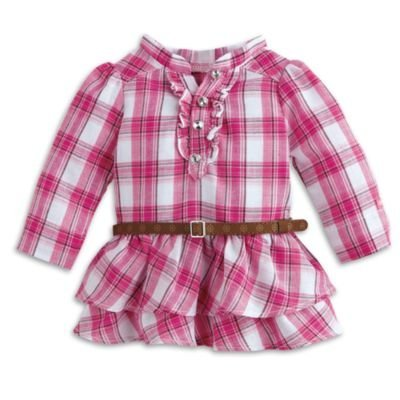 American Girl - Western Plaid Outfit for Dolls