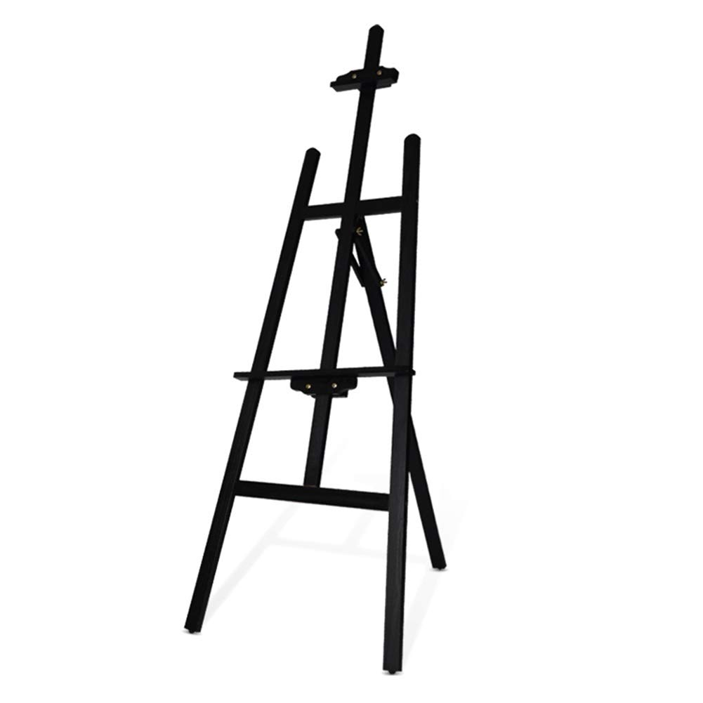 YY 調整可能な木製イーゼル絵画スタンド - - - キャンバス三脚イーゼルスタンド絵画とスケッチ - 黒 B07P11XMRG B07P11XMRG, ワイルドフィットネットショップ:b7d6c6e2 --- ijpba.info