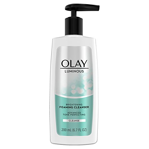 Olay Regenerist Luminous Brightening Foaming Cleanser Cream, 6.7 Fluid Ounce, Packaging May Vary
