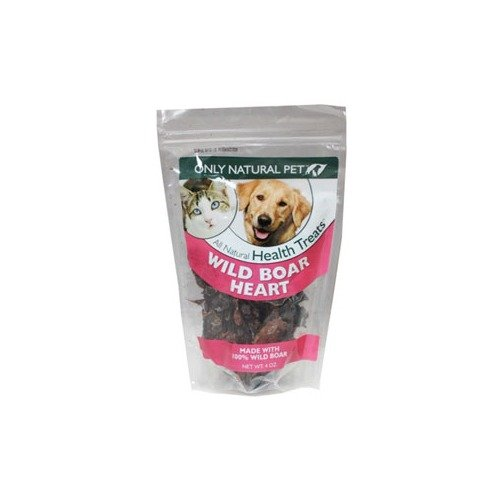 Only Natural Pet Wild Boar Heart Pet Treats