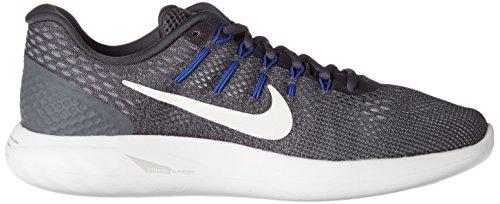 Nike Herren Lunarglide 8 Laufschuhe Dunkelgrau / Gipfel Weiß