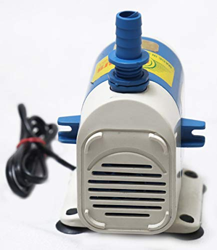 Globus Submersible Water Pump with 1 2 PIN Socket  White/Blue, 18 W