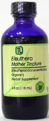 Настойка элеутерококка, 118 мл (Eleuthero (Eleutherococcus senticosus) Mother Tincture, Organic)