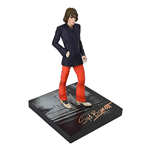 Knucklebonz Syd Barrett Limited Edition Collectible Statue - Co-Founder of Pink Floyd - Rock Iconz, Officially Licensed by Syd Barrett Estate, Includes CoA