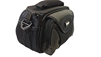 Canon VIXIA HF R700 Camcorder Case Camcorder and Digital Camera Case - Carry Handle & Adjustable Shoulder Strap - Black / Grey - Replacement by Synergy from Dynamic Power