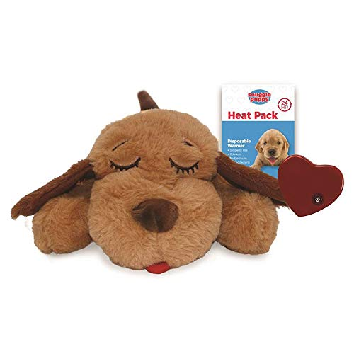 (SmartPetLove Snuggle Puppy Behavioral Aid Toy, Biscuit)