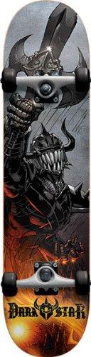 UPC 805538287912, Darkstar Blast Complete Skateboard, Silver, FUL7.5