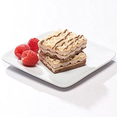 Balanced Protein Diet High Protein Raspberry Diet Wafer Square