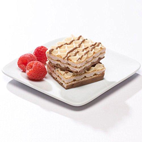 Balanced Protein Diet High Protein Raspberry Diet Wafer Square by Balanced Protein Diet