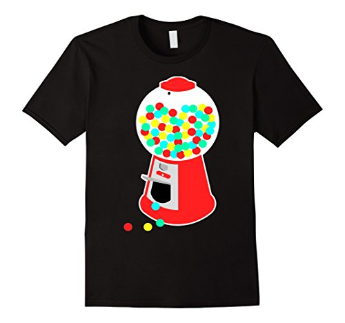 Men's Gumball Machine T-Shirt Vending Machine Candy Chewing