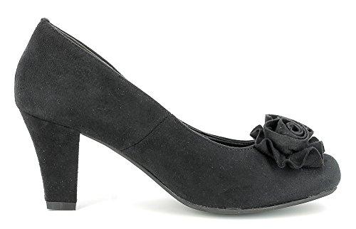 Negro Mujer Para De Vestir Conti Andrea Zapatos AW8RZW