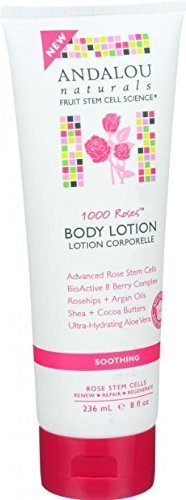 Andalou Naturals 1000 Roses Soothing Body Lotion 8 fl. Oz