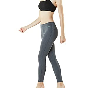 TM-FUP09-ZDG_Small Tesla Women's Compression Pants Cool Baselayer Tights Leggings FUP09