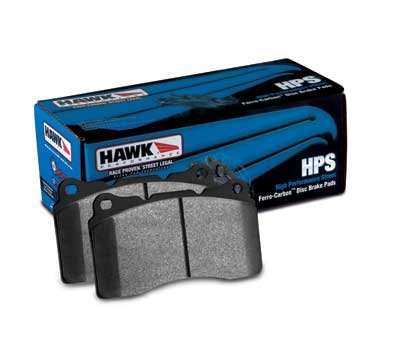 2007-2007 FORD FOCUS ST Hawk HPS Front and Rear Brake Pads