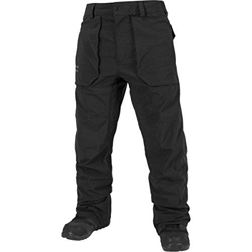 Volcom Men's Stretch Gore-Tex Pant, Black, (Volcom Vent)