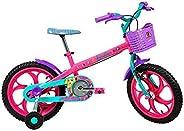 Bicicleta Caloi Barbie Aro 16