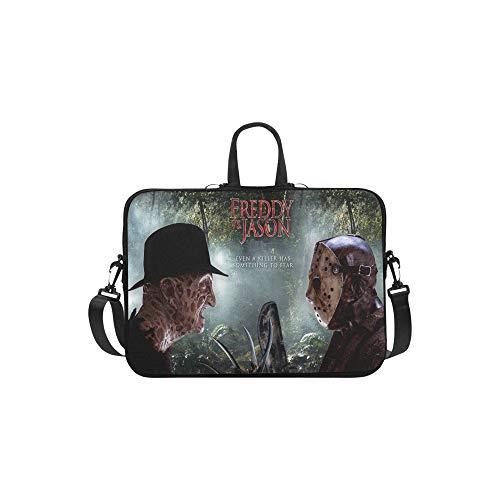 CHRISTIE QUINN Freddy VS Jason Voorhees Serial Killer Duel Messenger Laptop Bag (13