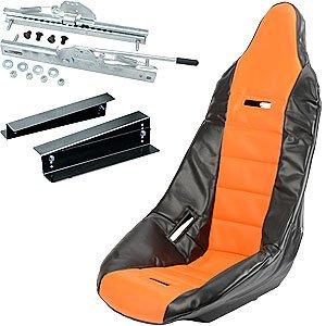 JEGS 70200K4 Pro High Back Race Seat Kit Includes: ()