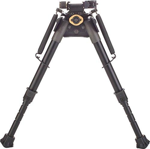 TipTop Rifle Bipod Notched Legs Quicklock EZ Pivot & PAN Picatinny Rail Mount QD 7